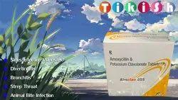 Amoxicillin And Potassium Clavulanate