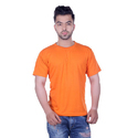 Plain Half Sleeves Mens Solid Cotton T-shirts, Size: S-xxl