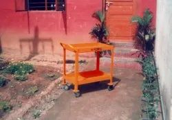 Mild Steel Hydro Fabs Material Handling Trolley, For Industrial