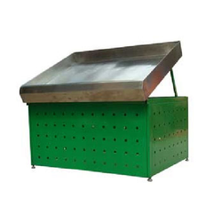 3 Feet Vegetable Perforated Storage Box, For Supermarket, Box Capacity: 50Kg