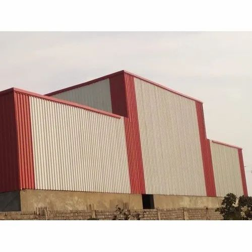 Steel Industrial Shed, Use: Industry