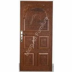 Decorative Teakwood Door