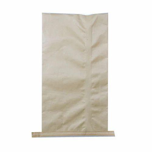 Packing Paper Laminated HDPE Sack Bag