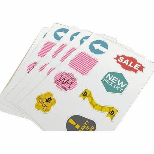 Vinyl Sticker Paper Printing Service