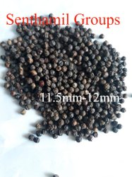 Organic Black Pepper(11.5mm to12mm), 25 And 50 Kg