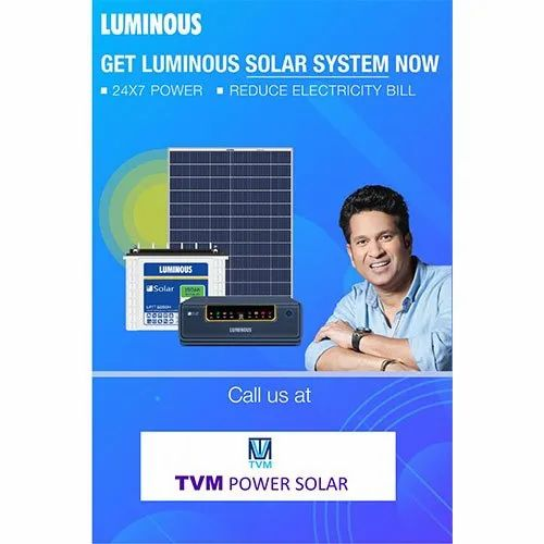 11- 50 KW Three Phase Solar System Off Grid Plant With Battery Backup
