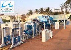 Chirag Multi Speed Interlocking Brick  Making Machine