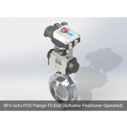 BFV Actu POS Flange TC End Actuator Positioner Operated