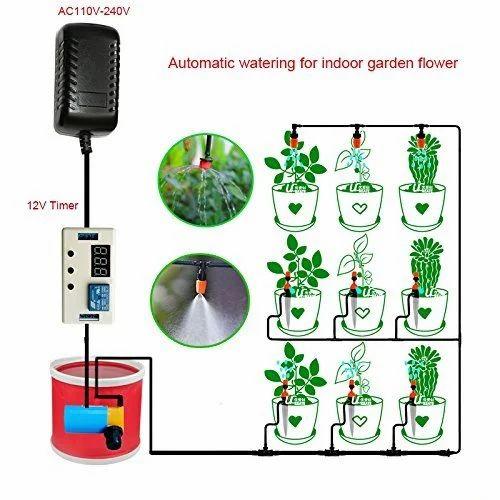 Landscape & Garden Popup Sprinkler System - Maxi Paw Popup Sprinkler