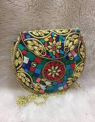 Mosiac Clutch bag