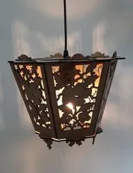 Night Lamp Traditional Wooden Hanging Light, For Home