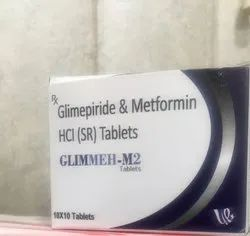 Metformin Hydrochloride Sustained Release Tablet