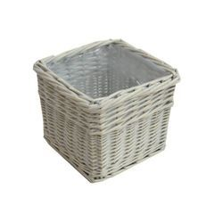 Wicker Plant Basket