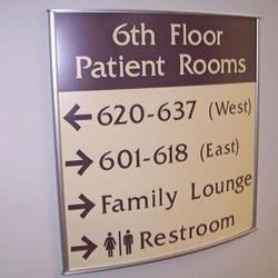 Floor Direction Sign