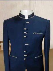 Blue Jodhpuri Suit Rental Service