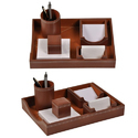 Card and Pen Stand Set
