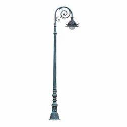 Modern Cast Iron Lamp Pole