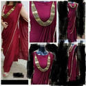 Pure Rayon Gown In Saree Style