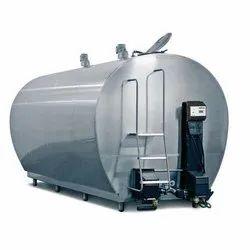 SS 304 Milk Storage Tank