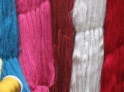 Viscose Dyed Hanks Yarn, For Weaving, Knitting, For Embroidery