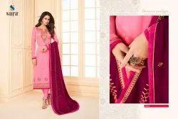 Designer Georgette Embroidered Salwar Suits