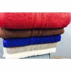 Cotton Plain Bath Towel