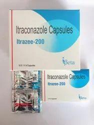 Itrazee-200 Itraconazole Capsules