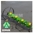 Agricultural 8 Row Plastic Drum Seeder