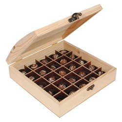 Chocolate Packaging Wooden Box