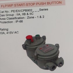 Flameproof Cum Weatherproof Push Button Station