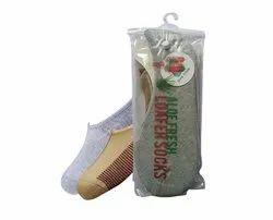 Aloe Fresh Loafer Socks_pack Of2_mens Socks_ladies Socks_socks School Socks Sports Socks Kids Socks