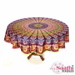 Crochet Tablecloth, Size: 165 Cm