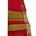 6.3 M (with Blouse Piece) Maheshwari Silk Maheshwari Sarees