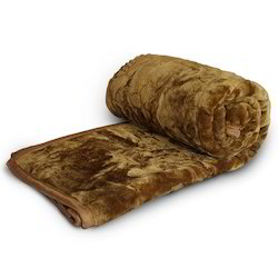 Floral Embossed Double Mink Blanket 203
