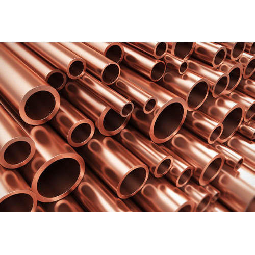 Copper Round 6m Pipe, Oil Industry
