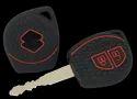 Silicon Black Keycare Silicone Key Cover For Maruti Suzuki Cars Kc23