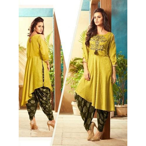 60880b1c88 Ladies Dhoti Salwar Suit, Designer Salwar Kameez, Fancy Suit ...