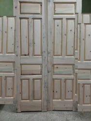 Indian Head Wooden Door
