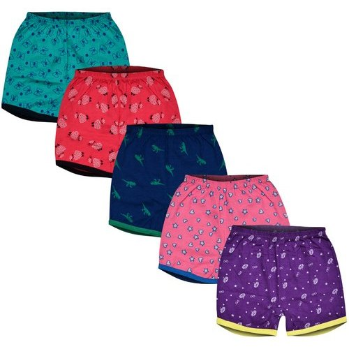 MyKid 0 To 24 Months Kids Boys & Girls Casual Cotton Shorts, Packaging Type: Packet