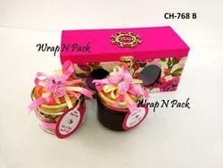 Wedding Invite - Floral Gift Box