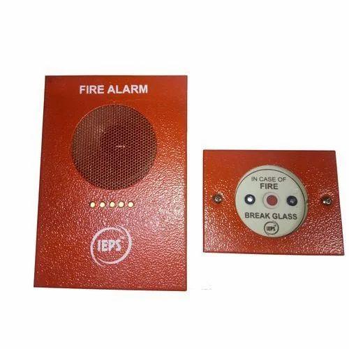 IEPS ABS Plastic Fire Alarm Control Panel