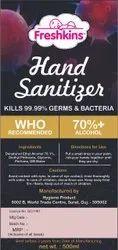 Freshkins Hand Sanitizer 5 litre