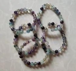 Stone Fluorite Bracelet