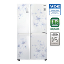 687 Liters Side By Side Refrigerator GC B247SCUV