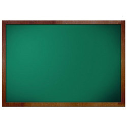 Rectangular Green Notice Board