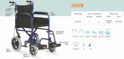 Arrow Premium Aluminum Wheelchair