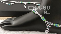 Wedding Wear Silver Anklet