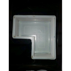 L Shaped Silicone Plastic Paver Block Mould