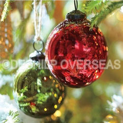 Color Silver Christmas Ornaments