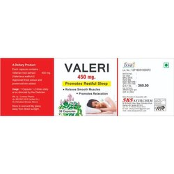 Valerian Root Extract Capsules